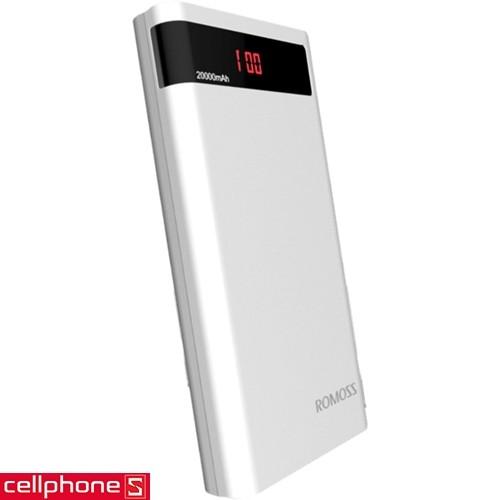 Romoss Sense 6P 20000 mAh | CellphoneS.com.vn
