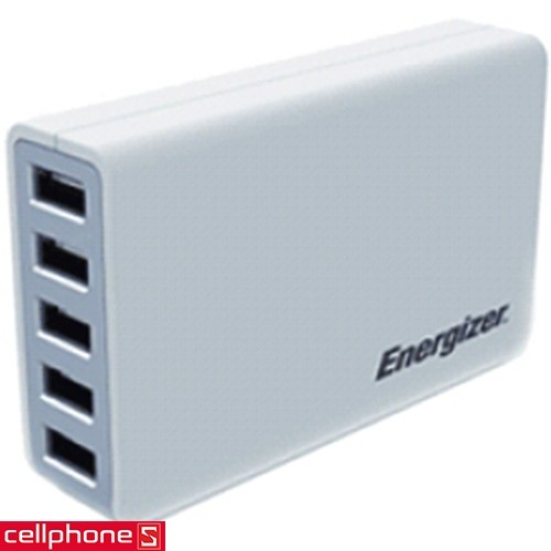 Energizer Classic Smart Multiport 5 USB Charger USA5CEUCWH5 | CellphoneS.com.vn