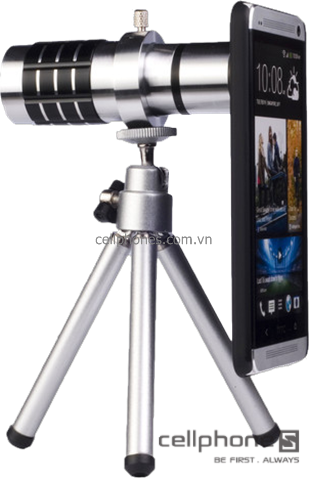 Phụ kiện cho HTC One - Lens zoom 12x HTC One