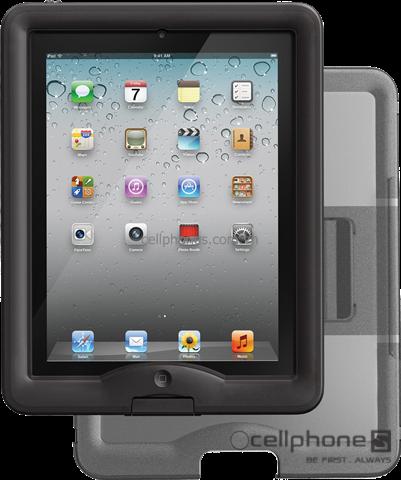 Bảo vệ cho iPad 2 / new iPad / iPad 4 - Lifeproof nüüd Case & Replacement Cover/Stand