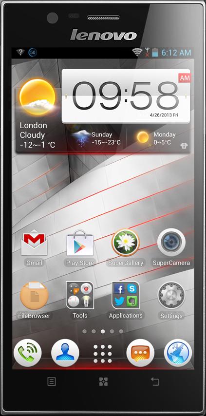 Lenovo K900 Công ty - CellphoneS giá rẻ nhất