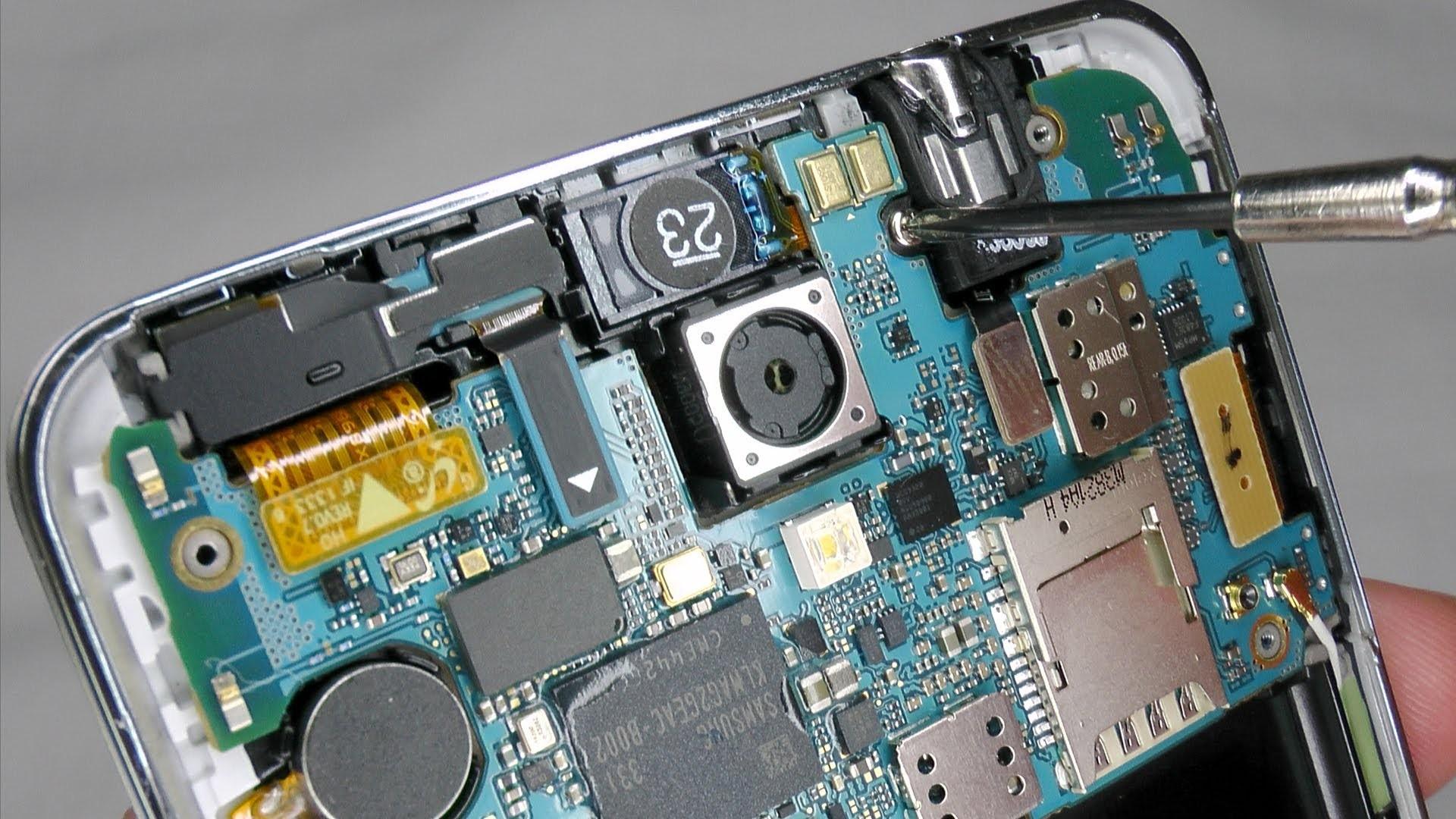 Sửa lỗi nguồn - Thay ic nguồn Galaxy Note 3
