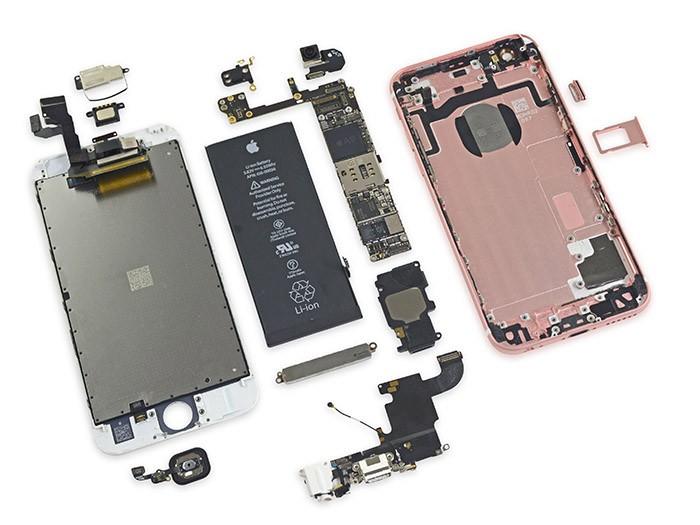 Sửa lỗi loa, mic - Thay IC Audio iPhone 6S Plus