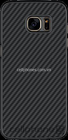 Ốp lưng cho Galaxy S7 edge - Nillkin Synthetic Fiber - CellphoneS-0