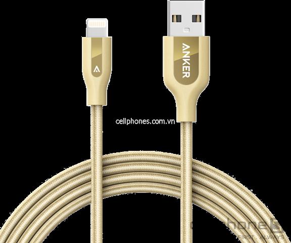 Cáp Anker PowerLine+ Lightning 1.8 m - CellphoneS-0