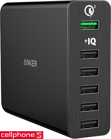 Anker PowerPort+ 6 Quick Charge 3.0 | CellphoneS.com.vn-0