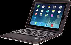 Bear Motion Ultra Thin Folio Case Detachable Bluetooth Keyboard - CellphoneS-0