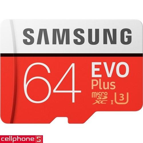Samsung MicroSDXC EVO Plus 64 GB | CellphoneS.com.vn-0