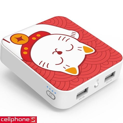 Yoobao M4 Lucky Cat YB-6024 10400 mAh | CellphoneS.com.vn-1