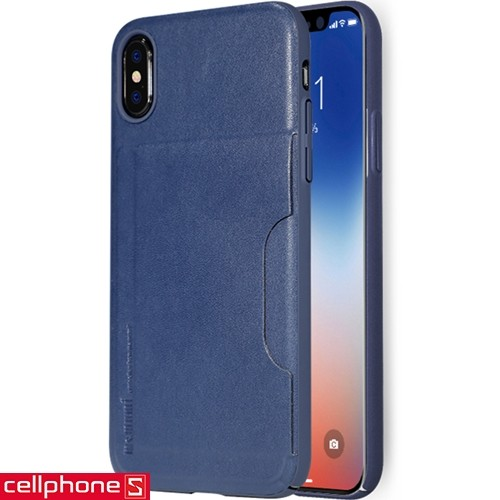 iPhone X Memumi Leather Card Pocket | CellphoneS.com.vn-1