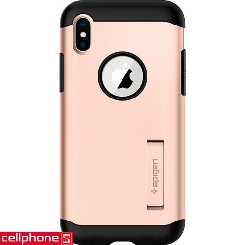 iPhone X Spigen Slim Armor Case   CellphoneS.com.vn-1