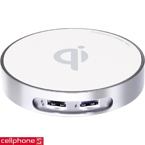 Channel Well Wireless Charger WCD00020B | CellphoneS.com.vn-1