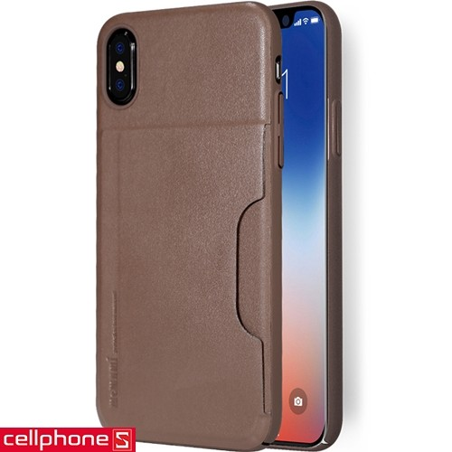 iPhone X Memumi Leather Card Pocket | CellphoneS.com.vn-2