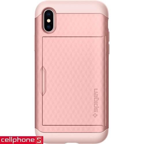 iPhone X Spigen Crystal Wallet Case | CellphoneS.com.vn-2