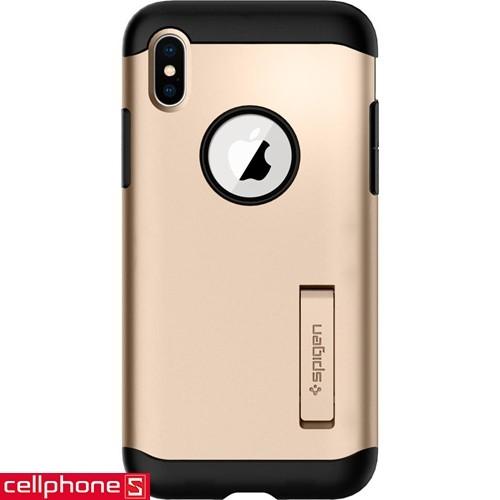 iPhone X Spigen Slim Armor Case   CellphoneS.com.vn-2