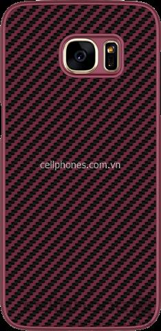 Ốp lưng cho Galaxy S7 edge - Nillkin Synthetic Fiber - CellphoneS-2