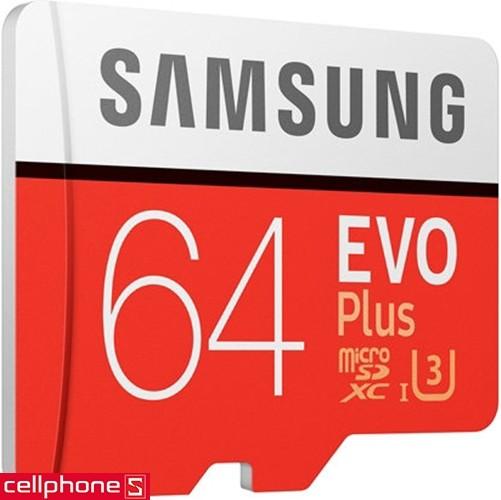Samsung MicroSDXC EVO Plus 64 GB | CellphoneS.com.vn-3
