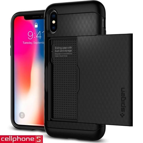 iPhone X Spigen Crystal Wallet Case | CellphoneS.com.vn-3