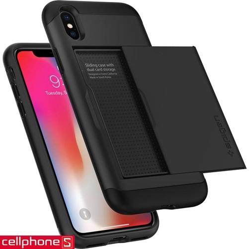 iPhone X Spigen Slim Armor CS Case | CellphoneS.com.vn-4