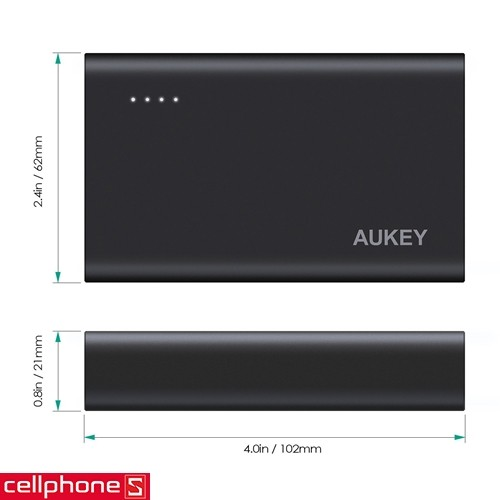 AUKEY PB-AT10 10050 mAh Quick Charger 3.0 | CellphoneS.com.vn-4