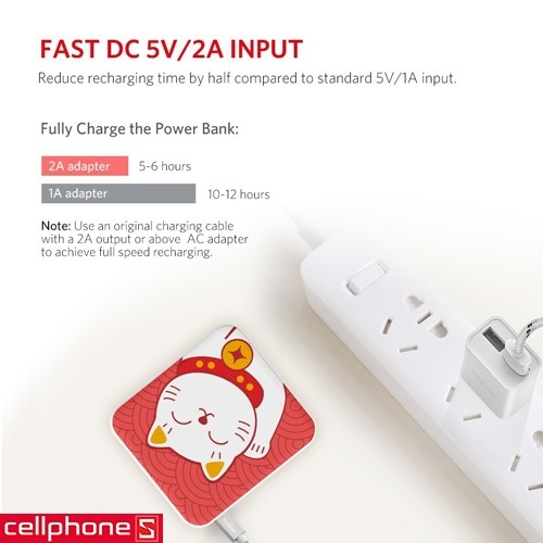 Yoobao M4 Lucky Cat YB-6024 10400 mAh | CellphoneS.com.vn-4