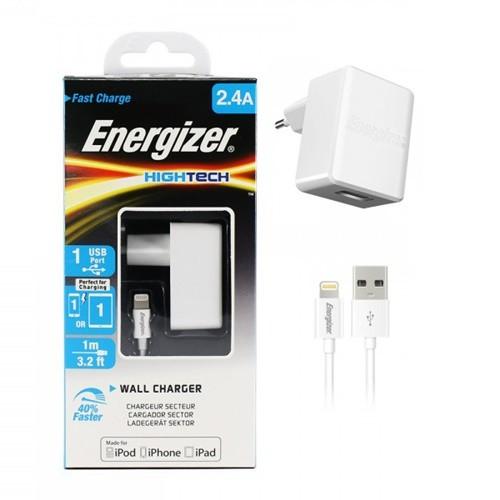 Energizer Hightech Wall Charger Lightning 2.4 A ACA1BEUHLI3 | CellphoneS.com.vn-2
