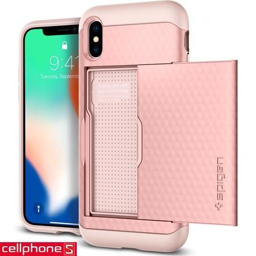 iPhone X Spigen Crystal Wallet Case | CellphoneS.com.vn-5