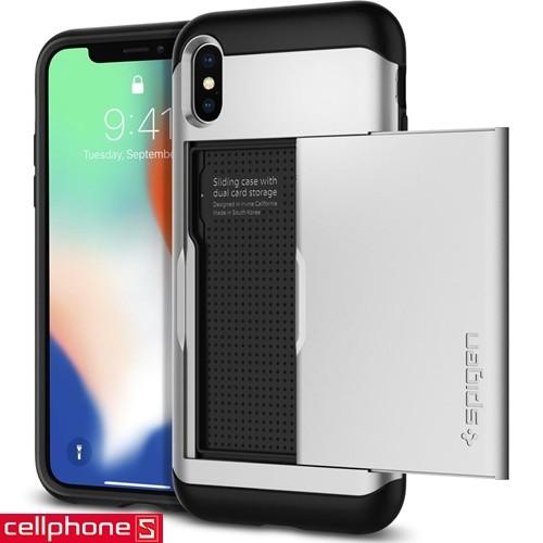 iPhone X Spigen Slim Armor CS Case | CellphoneS.com.vn-7