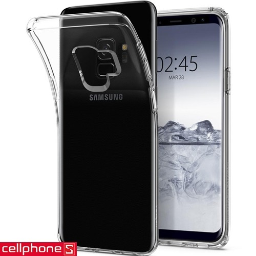 Galaxy S9 Spigen Liquid Crystal Case   CellphoneS.com.vn-4