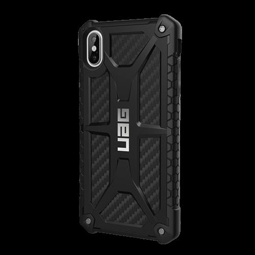 Ốp lưng chống sốc cho iPhone XS Max - UAG Monarch Carbon Fiber-0