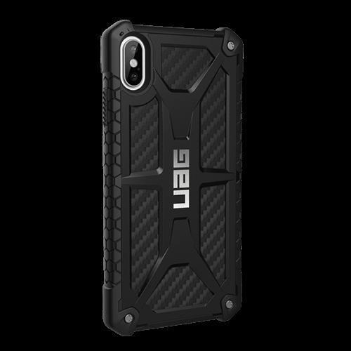 Ốp lưng chống sốc cho iPhone XS Max - UAG Monarch Carbon Fiber-1