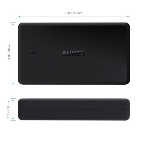 AUKEY PB-Y7 30000 mAh USB-C Quick Charge 3.0 | CellphoneS.com.vn-1