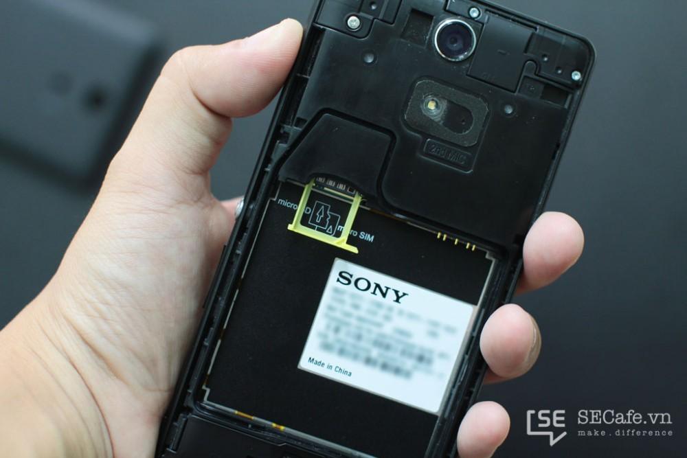 Thay cam sau Sony Zr - Cellphones-1