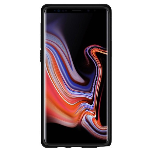Ốp lưng cho Galaxy Note 9 - Spigen Case Slim Armor-Black-0