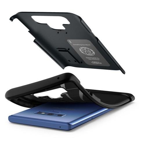 Ốp lưng cho Galaxy Note 9 - Spigen Case Slim Armor-9