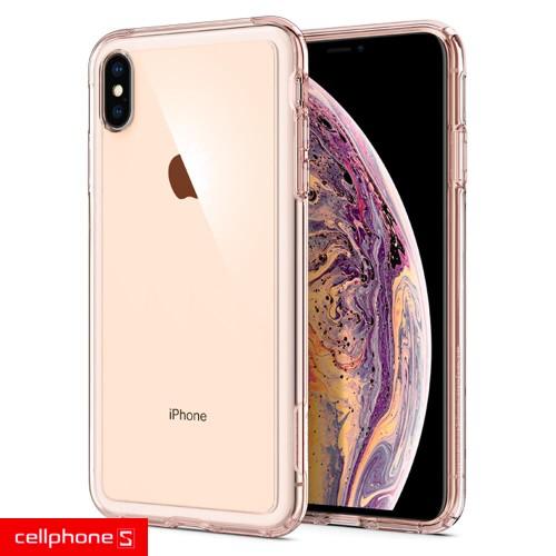 Ốp lưng iPhone XS Max - Spigen Case Crystal Hybrid giá rẻ | CellphoneS-11