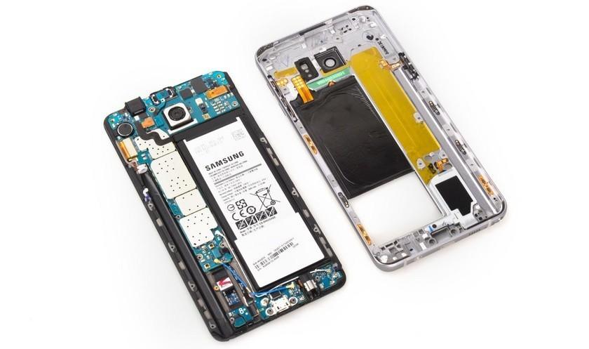 Sửa lỗi hiển thị cảm ứng - Thay ic hiển thị Galaxy Note 5 - Cellphones-0
