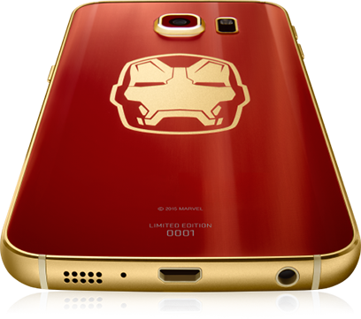 Samsung Galaxy S6 edge Iron Man Limited Edition - CellphoneS-4