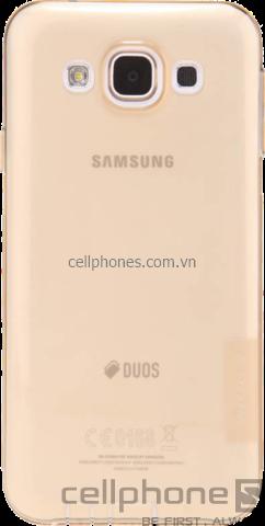 Ốp lưng cho Galaxy E5 - Nillkin Nature TPU Case - CellphoneS - CellphoneS