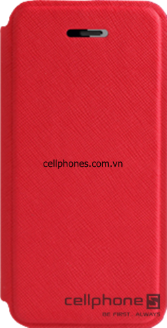 Bao da cho iPhone 5 - Verus Saffiano Wallet Leather Case