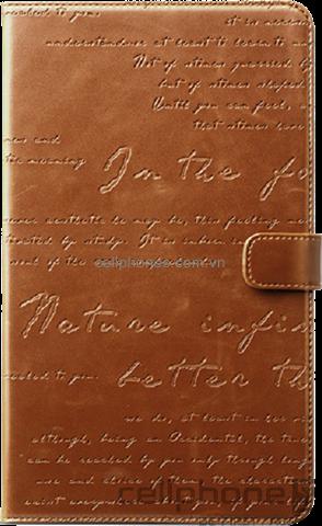 Bao da cho Galaxy Tab 3 8.0 - Zenus Lettering Diary