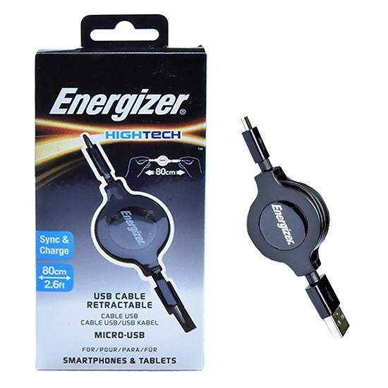 Energizer Hightech Micro USB 80 cm C31UBRETEBK4 | CellphoneS.com.vn
