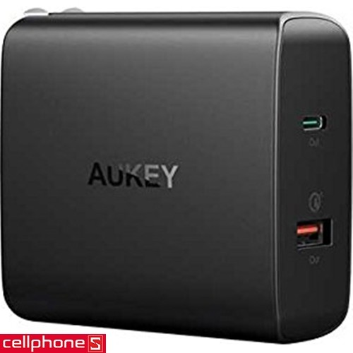 AUKEY PA-Y11 Amp 30 W PD Wall Charger Quick Charge 3.0 | CellphoneS.com.vn
