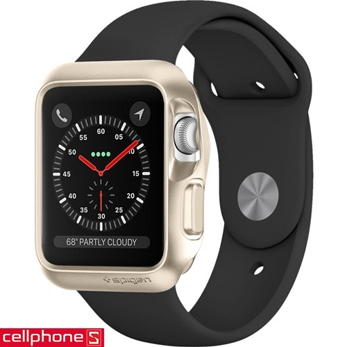 Apple Watch Series 3/2/1 (38 mm) Spigen Slim Armor Case | CellphoneS.com.vn