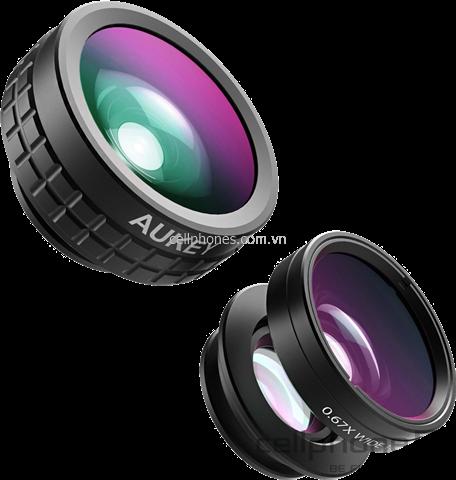 AUKEY PL-A1 3-in-1 Clip-on Smartphone Lens Set | CellphoneS.com.vn