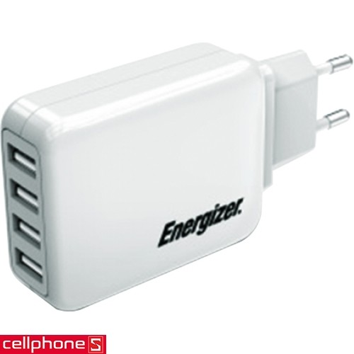 Energizer Classic Smart Multiport 4 USB Charger USB4BEUCWH5 | CellphoneS.com.vn