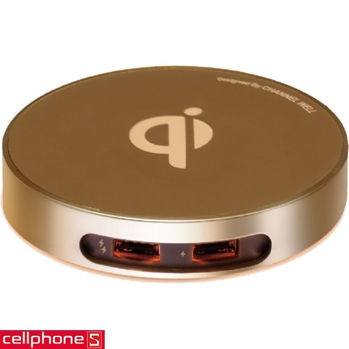 Channel Well Wireless Charger WCD00020B | CellphoneS.com.vn