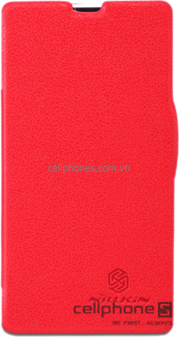 Bao da cho Xperia ZR - Nillkin Fresh Series Leather Case