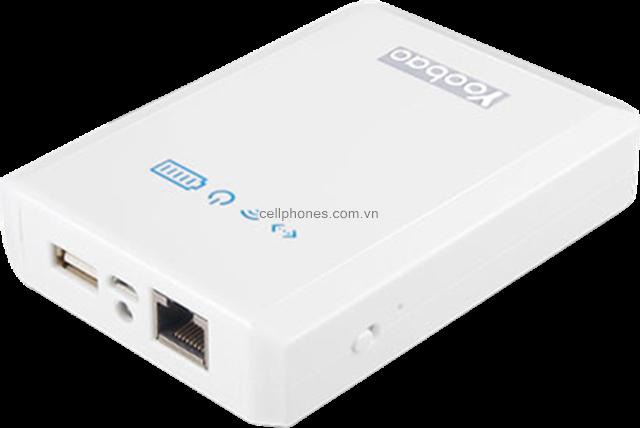 Pin dự phòng Yoobao Mytour WiFi + Power Bank YB658 10400 mAh - CellphoneS