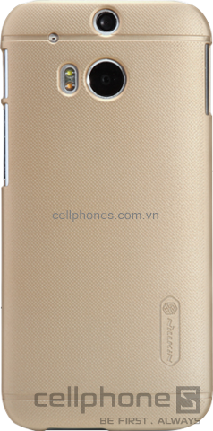 Ốp lưng cho One M8 - Nillkin Super Frosted Shield - CellphoneS